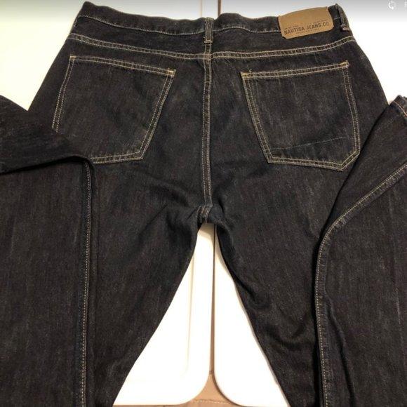 Nautica Men's Dark Wash Denim Jeans Gently Worn
